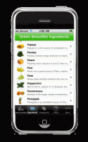 Green Smoothies Recipes From Your Phone?