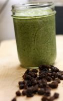 Green Smoothies With Raisins