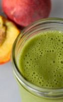 Try Green Smoothies With Peaches