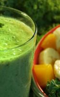 Green Smoothies With Asian Fruit