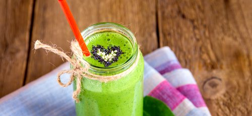 Calcium-Packed Summer Green Smoothie